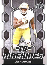 Load image into Gallery viewer, 2018 Leaf Draft Football Cards - TD Machines: #TD-09 Josh Adams