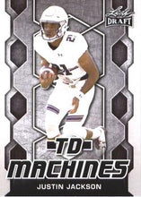 Load image into Gallery viewer, 2018 Leaf Draft Football Cards - TD Machines: #TD-10 Justin Jackson