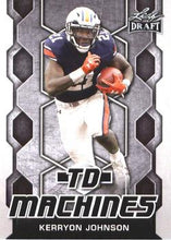 Load image into Gallery viewer, 2018 Leaf Draft Football Cards - TD Machines: #TD-11 Kerryon Johnson