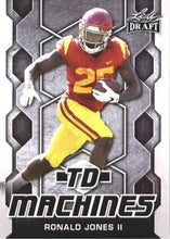 Load image into Gallery viewer, 2018 Leaf Draft Football Cards - TD Machines: #TD-16 Ronald Jones II