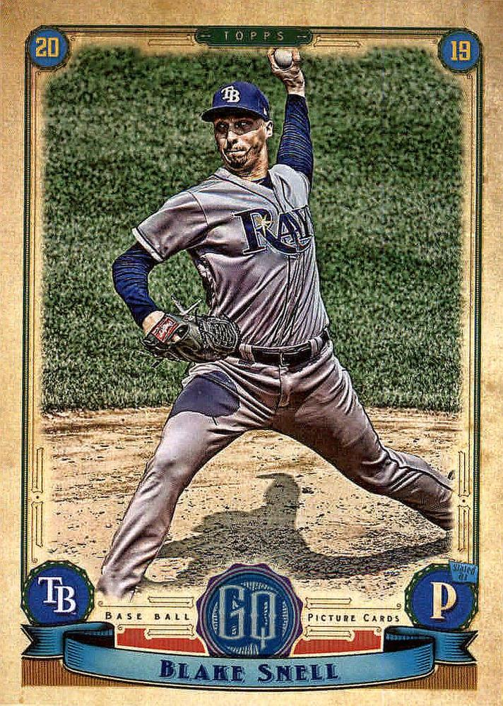 2019 Topps Gypsy Queen Baseball Cards (101-200): #101 Blake Snell