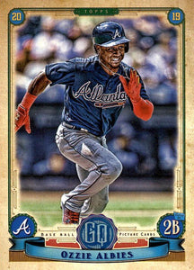 2019 Topps Gypsy Queen Baseball Cards (101-200): #104 Ozzie Albies