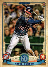 Load image into Gallery viewer, 2019 Topps Gypsy Queen Baseball Cards (101-200): #105 Bryce Harper