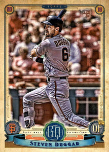 2019 Topps Gypsy Queen Baseball Cards (101-200): #108 Steven Duggar RC
