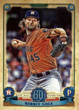 Load image into Gallery viewer, 2019 Topps Gypsy Queen Baseball Cards (101-200): #109 Gerrit Cole