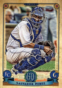 2019 Topps Gypsy Queen Baseball Cards (101-200): #110 Salvador Perez