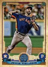 Load image into Gallery viewer, 2019 Topps Gypsy Queen Baseball Cards (101-200): #111 Justin Verlander
