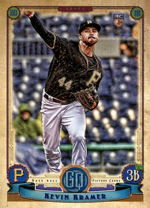 2019 Topps Gypsy Queen Baseball Cards (101-200): #112 Kevin Kramer RC