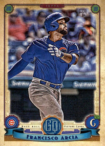 2019 Topps Gypsy Queen Baseball Cards (101-200): #117 Francisco Arcia RC