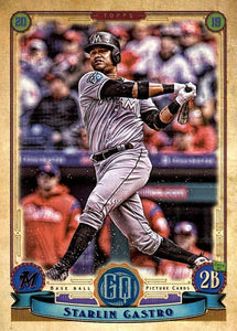 2019 Topps Gypsy Queen Baseball Cards (101-200): #118 Starlin Castro