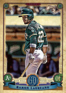 2019 Topps Gypsy Queen Baseball Cards (101-200): #120 Ramon Laureano RC