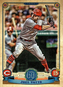 2019 Topps Gypsy Queen Baseball Cards (101-200): #121 Joey Votto