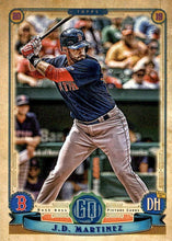 Load image into Gallery viewer, 2019 Topps Gypsy Queen Baseball Cards (101-200): #122 J.D. Martinez