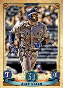 2019 Topps Gypsy Queen Baseball Cards (101-200): #124 Joey Gallo