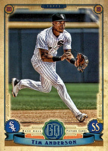 2019 Topps Gypsy Queen Baseball Cards (101-200): #125 Tim Anderson
