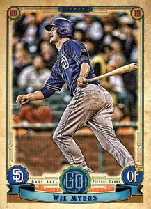 2019 Topps Gypsy Queen Baseball Cards (101-200): #126 Wil Myers
