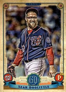 2019 Topps Gypsy Queen Baseball Cards (101-200): #127 Sean Doolittle