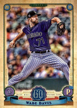 Load image into Gallery viewer, 2019 Topps Gypsy Queen Baseball Cards (101-200): #135 Wade Davis