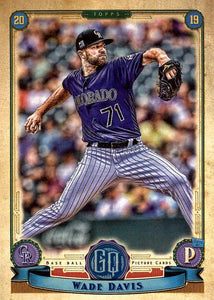 2019 Topps Gypsy Queen Baseball Cards (101-200): #135 Wade Davis