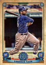 Load image into Gallery viewer, 2019 Topps Gypsy Queen Baseball Cards (101-200): #136 Lorenzo Cain