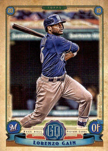 2019 Topps Gypsy Queen Baseball Cards (101-200): #136 Lorenzo Cain