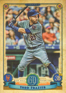 2019 Topps Gypsy Queen Baseball Cards (101-200): #137 Todd Frazier