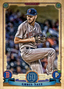 2019 Topps Gypsy Queen Baseball Cards (101-200): #138 Chris Sale