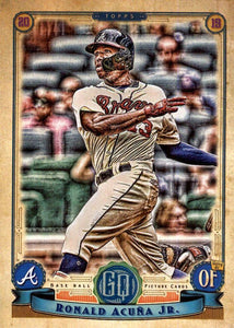 2019 Topps Gypsy Queen Baseball Cards (101-200): #150 Ronald Acuña Jr.
