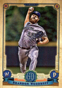 2019 Topps Gypsy Queen Baseball Cards (101-200): #151 Brandon Woodruff