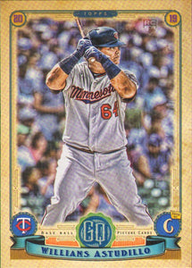 2019 Topps Gypsy Queen Baseball Cards (101-200): #152 Willians Astudillo RC