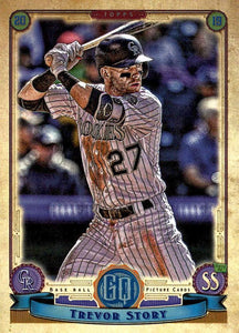 2019 Topps Gypsy Queen Baseball Cards (101-200): #153 Trevor Story