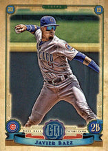 Load image into Gallery viewer, 2019 Topps Gypsy Queen Baseball Cards (101-200): #155 Javier Baez