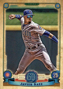 2019 Topps Gypsy Queen Baseball Cards (101-200): #155 Javier Baez