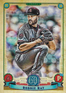 2019 Topps Gypsy Queen Baseball Cards (101-200): #162 Robbie Ray