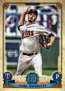2019 Topps Gypsy Queen Baseball Cards (101-200): #164 Jake Odorizzi