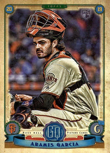 2019 Topps Gypsy Queen Baseball Cards (101-200): #165 Aramis Garcia RC