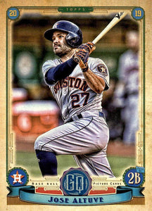 2019 Topps Gypsy Queen Baseball Cards (101-200): #166 Jose Altuve