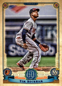 2019 Topps Gypsy Queen Baseball Cards (101-200): #167 Tim Beckham