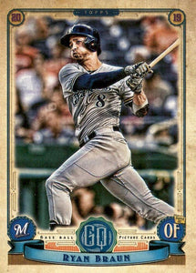 2019 Topps Gypsy Queen Baseball Cards (101-200): #172 Ryan Braun