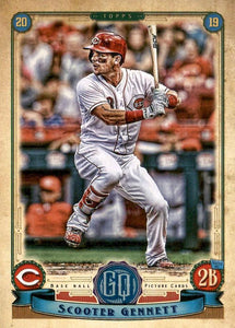 2019 Topps Gypsy Queen Baseball Cards (101-200): #173 Scooter Gennett