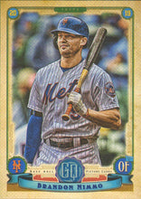 Load image into Gallery viewer, 2019 Topps Gypsy Queen Baseball Cards (101-200): #176 Brandon Nimmo