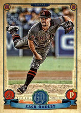 Load image into Gallery viewer, 2019 Topps Gypsy Queen Baseball Cards (101-200): #177 Zack Godley