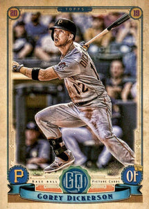 2019 Topps Gypsy Queen Baseball Cards (101-200): #178 Corey Dickerson