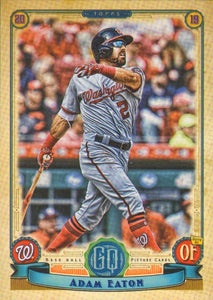 2019 Topps Gypsy Queen Baseball Cards (101-200): #179 Adam Eaton