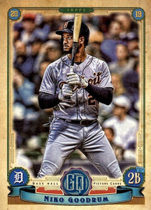 2019 Topps Gypsy Queen Baseball Cards (101-200): #181 Niko Goodrum