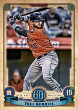 Load image into Gallery viewer, 2019 Topps Gypsy Queen Baseball Cards (101-200): #184 Yuli Gurriel