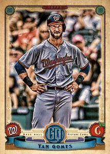 2019 Topps Gypsy Queen Baseball Cards (101-200): #190 Yan Gomes