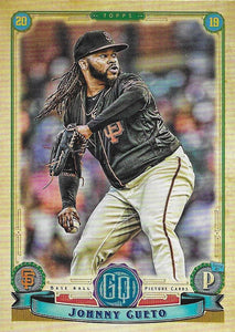 2019 Topps Gypsy Queen Baseball Cards (101-200): #193 Johnny Cueto