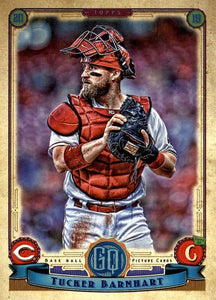 2019 Topps Gypsy Queen Baseball Cards (101-200): #195 Tucker Barnhart