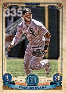 2019 Topps Gypsy Queen Baseball Cards (101-200): #196 Yoan Moncada
